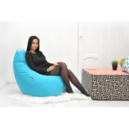 Кресло-мешок БинБэг  Лазурь