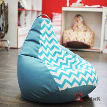 Кресло-мешок БинБэг Крок Блю
