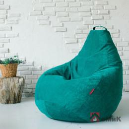 Кресло-мешок Босс Пудра Изумруд