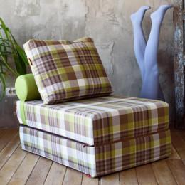 Бескаркасный диван-кровать Коста Лайм