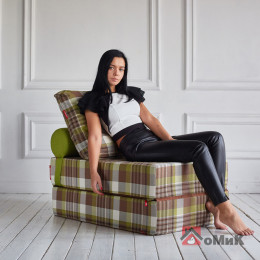 Бескаркасное кресло-кровать Коста Лайм