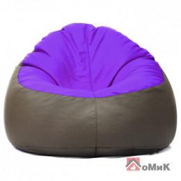 Кресло-мешок Пуф Коктейль Фиолет