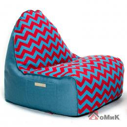 Бескаркасное кресло Комфорт Зиг-Заг