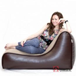 Бескаркасное кресло-лежак Оттоман