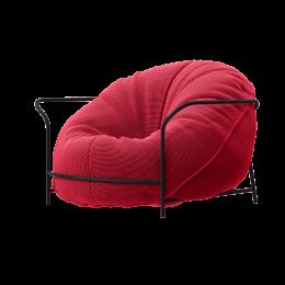 Дизайнерское Кресло Uni Розовый с каркасом