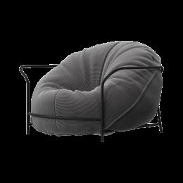 Дизайнерское кресло Uni Стальной с каркасом