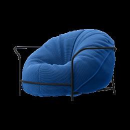 Дизайнерское кресло Uni Василёк с каркасом